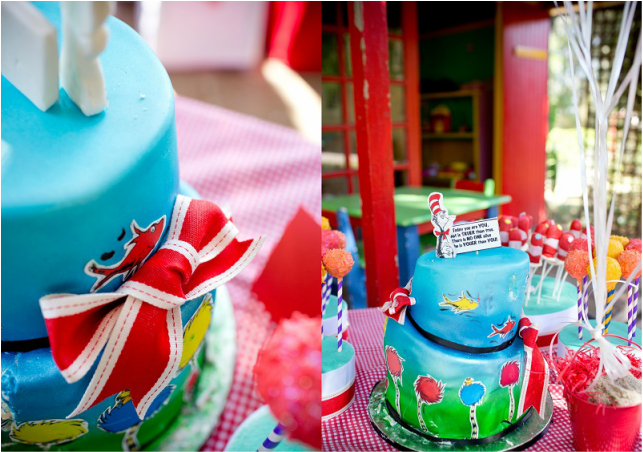 Dr. Seuss Birthday party and decor ideas.