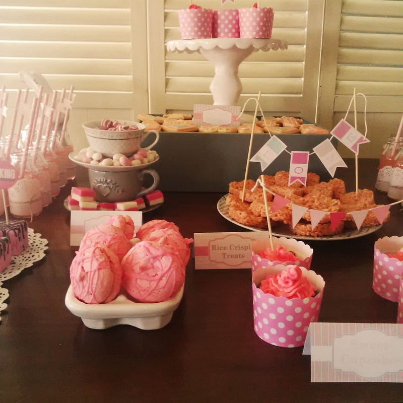 Candy tables ideas