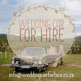 Wedding car for hire pretoria