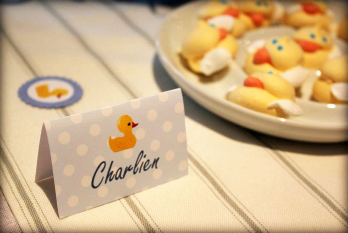 Duck babyshower theme idea