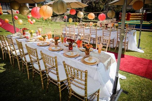 Party planner in Johannesburg.