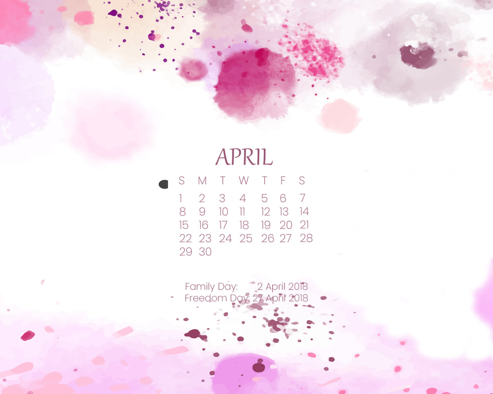 Free April 2018 Desktop Wallpaper