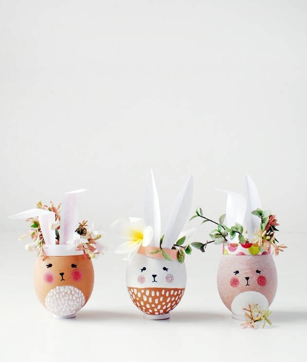 Easy Easter Decoration DIY with things that you will already have in your home.