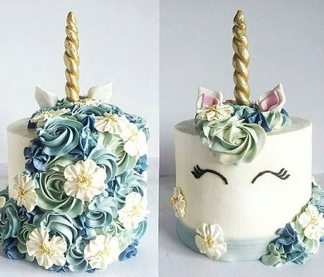 Unicorn theme cake ideas